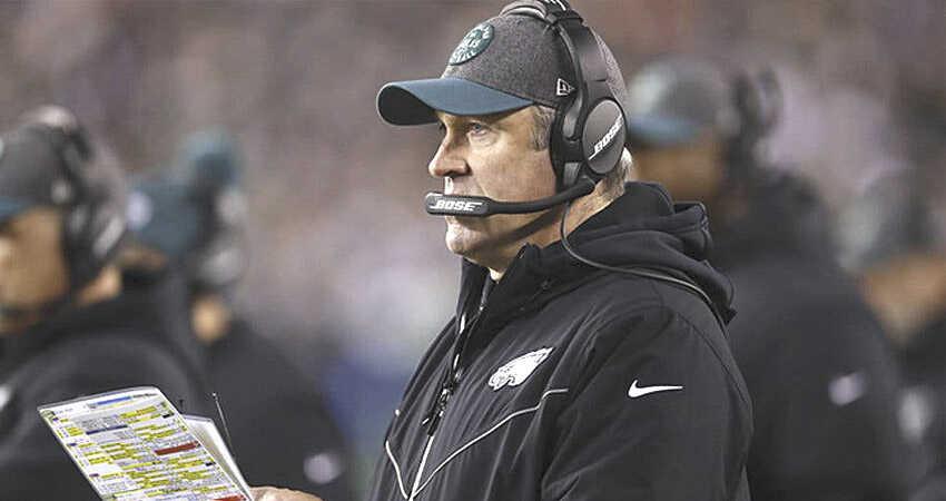 El entrenador de los Eagles da positivo a la COVID-19